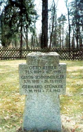 Kriegsgräberstätte an der Buchholzer Straße in Teupitz