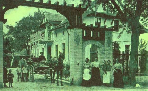 Wohnhaus Gutzmannstraße 21, Postkarte um 1927