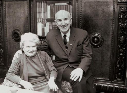 Hans Sußmann mit Ehefrau Charlotte