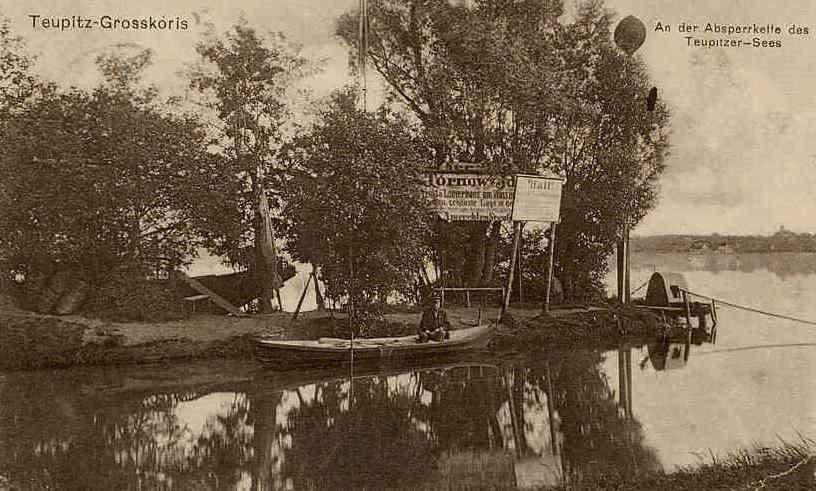 Kettenschulze um 1908