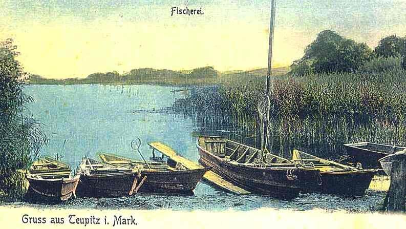 Postkarte um 1928