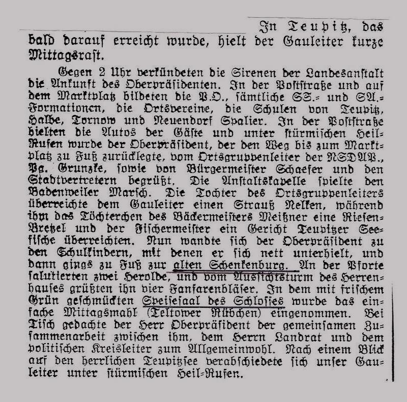Königswusterhausener Zeitung 25.2.1934