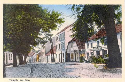 Postkarte um 1918